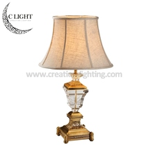 Ancient Bar Table Lamp With Crystal and Aluminum Body Designer First Choice