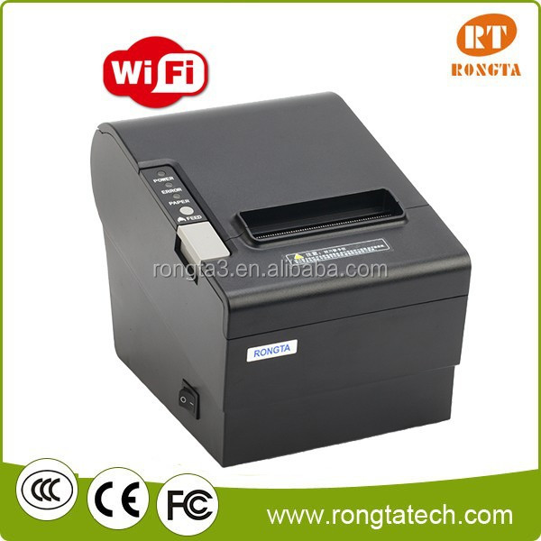 Restaurant 80mm Wireless Receipt Android POS Thermal Printer