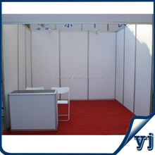 White portable easy installing modular trade show 3x3 exhibition booth