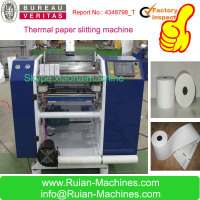 High speed atm receipt paper slitting machine ,slitter rewinder for cash register rolls
