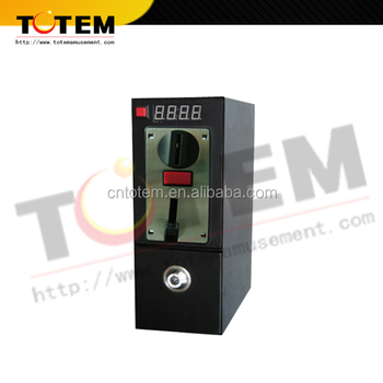 Vending Coin Machine / Time Coin Box For The Washing Machine