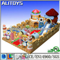 Hot sale good quality inflatable fun city ,inflatable playground on sale