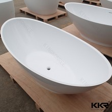 Pure white oval freestanding bathtub, antique tin bathtub tub