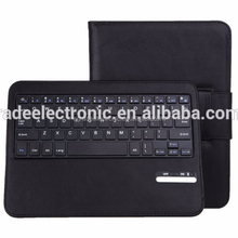 Wireless Bluetooth Keyboard Stand Leather Case for Samsung Galaxy Note 10.1 N8000