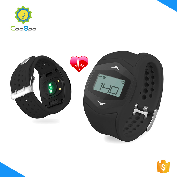 CooSpo fitness round smart watch with Heart Rate monitor