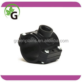 "irrigation clamp saddle 110*1"" from Langfang GreenPlains"