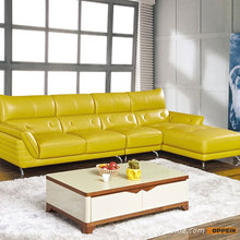 New Model Modern Design Leather Living Room Furniture Sofa Set