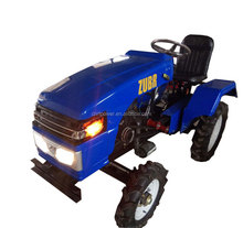 zubr mini tractor with land mower