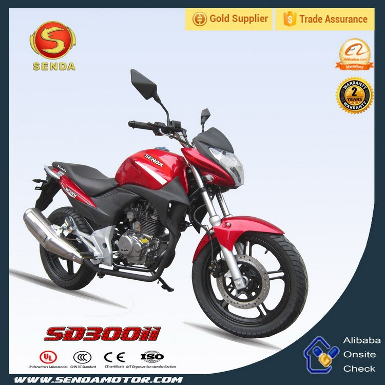 Hot Selling Street Legal Motorcycle 300CC 4 Stroke Street Motorcycle Racing Bike SD300II
