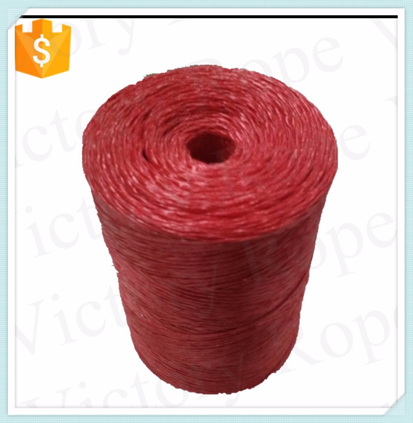 Baler Rope Made In China PP Packing Rope Polypropylene PP Raffia twine