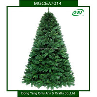 HIGH Quality ! 2015 Green Christmas tree & PVC and PE a variety of color