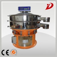 Ultrasound vibrating screen sieving machine