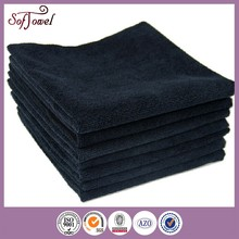 2015 best selling shipping from China microfiber black salon towels
