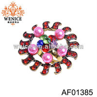 pink pearl jewelry red diamond rings