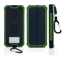 Solar Power Bank Dual USB Portable External Battery Charger solor power bank charger
