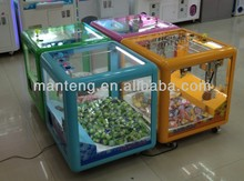 Magic doll cube crane machine,plush toy game machine,crane toy gift machine
