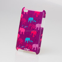Personalized elephent design Imd printing phone cover,plastic cell phone case for iphone 4