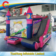 Free sea shipping inflatable jumping castle with slide, cheap inflatable bouncy castle, best inflatable bouncer supplier