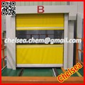 high speed fabric roll shutter automatic door for food factory