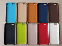 2016 Newest Product High Quality For Iphone 6 6plus Official PU Leather Back Case Cover for Iphone6 6plus .