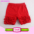2017 Baby Girls Summer Shorts Icing Knit Soild Striped 3 Layers Wholesale Cheap Cute Ruffled Icing Shorts Girls
