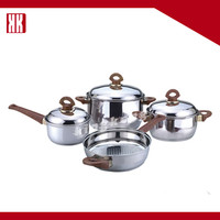 Turkish Stainless Steel Cookware Set Wholesale