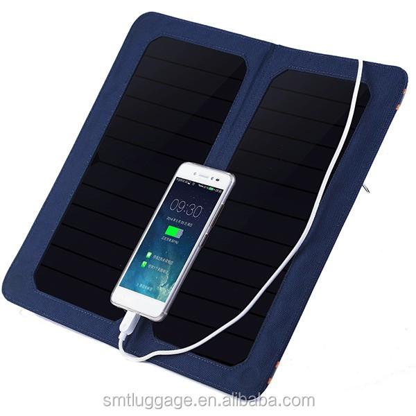 6V6.5W Portable Solar Panel With Sun- Power Battery