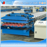 Wuxi Manufacturer of YTSING-YD-9892 Metal Corrugated Roof Tile Sheet/Panel Roll Forming Machine