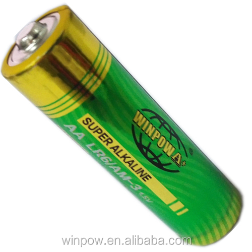 Portable Cell Mignon 1.5V Alkaline Battery