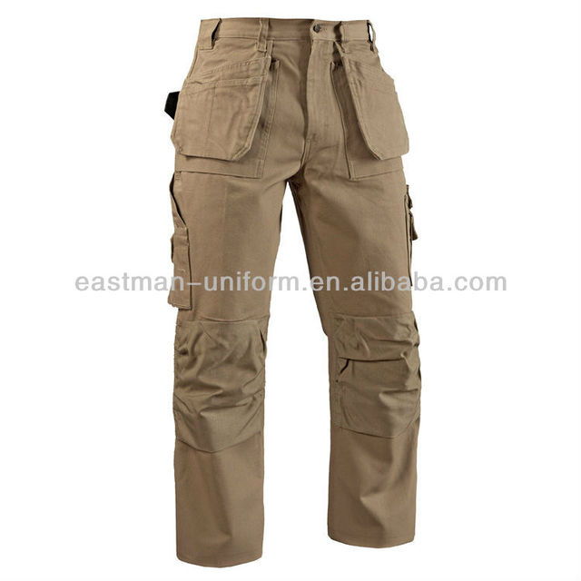 fashionalbe casual baggy pants men pants available with fabrics like t/c,c/c,canvas,oxford,poplin or by customized