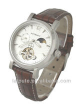 2013 vogue automatic leather band business lady brand watch