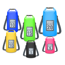 Custom Logo Wetsuit Dry Bag Ocean Pack 20L PVC Waterproof Backpack Dry Bag