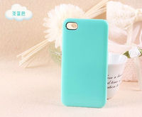 Hot Selling Colorful Candy Color Plastic Hard Cover For iphone4/4s Hard Protective Skin