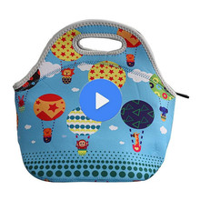 Wholesales professional cheap price fashion design insulated neoprene lunch bag