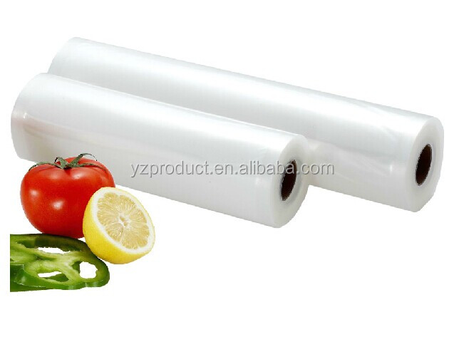 Food grade food vacuum embossed bag for fruits and vegetables