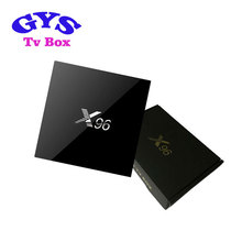 Cheap android media player X96 S905x android tv box custom logo open set top box