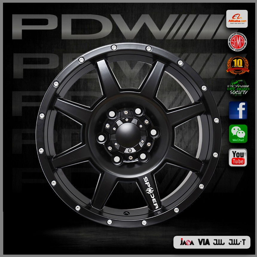 PDW brand 26 rims, China alloy wheels plant since 1983