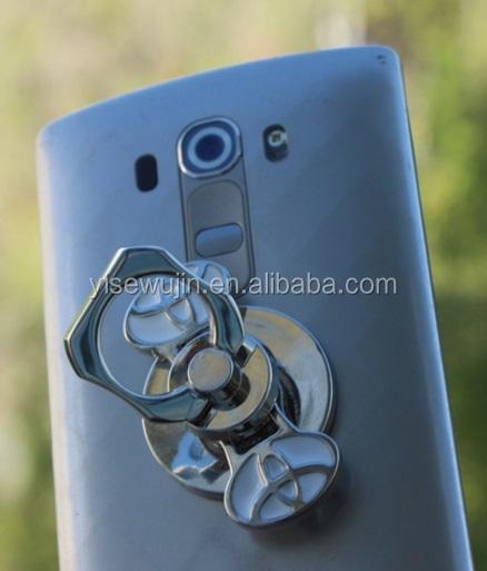 Universal Mobile Phone Holder Custom Logo Metal Fidget Spinner Holder For Gps Cell Phone - ANKUX Tech Co., Ltd
