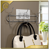 Wall mounted bathroom rack,stainless steel clothes drying rack,fashion clothing hook