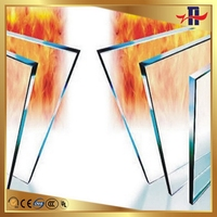 Bottom price hot sale fireproof glass for building