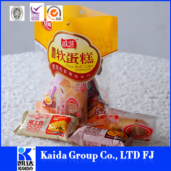 plastic bread bag manufacturer custom clear plastic bag