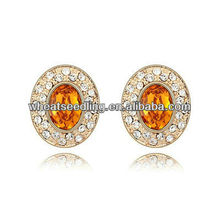 New Jewelry Products For 2013 Hot Sale Fashion Stud Earrings Made With SWAR Elements 20130112010