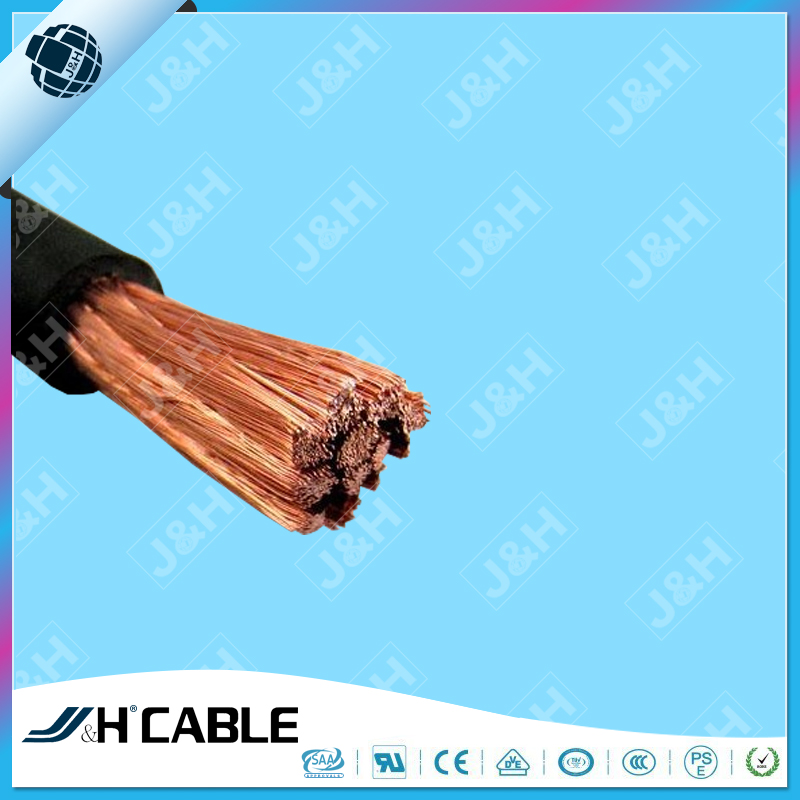 Professional Cable 35mm2 Flexible Welding Cable Copper Wire