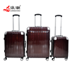 luggage and suitcase large capacity package with wheels 4 spinner wheels luggage bags factory