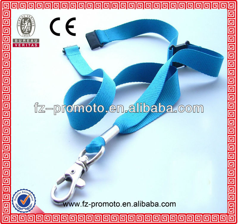 2013 Polyester adjustable retractable promotional e-cigarette lanyard With Custom Logo