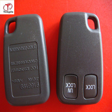 TD remote control / 2 button remote key blank/shell, keyless fob for Volvo