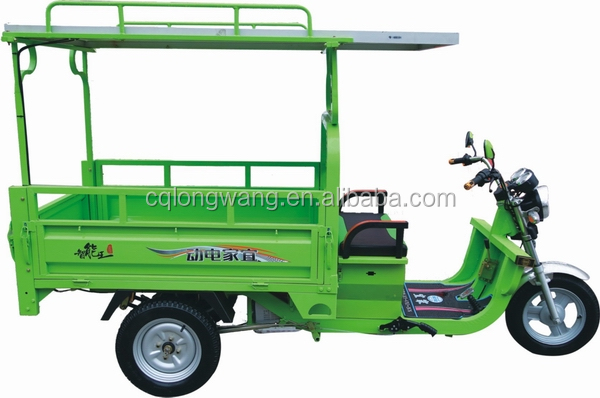 800W 1000W 1500W brand new mature technology solar electric three wheeler/solar electric tricycle/solar electric tuk tuk