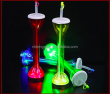Hot Sale Beer Yard Cups, Plastic LED Flashing Cups, Party Favor Cups
