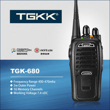 New TGK-680 walkie talkie building