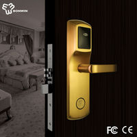 CE & FCC approved hotel card door lock access control